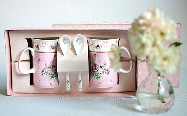 wundersch nes porzellan tassen set rosa r schen von kleiner apfelbaum lifestyle blog. Black Bedroom Furniture Sets. Home Design Ideas
